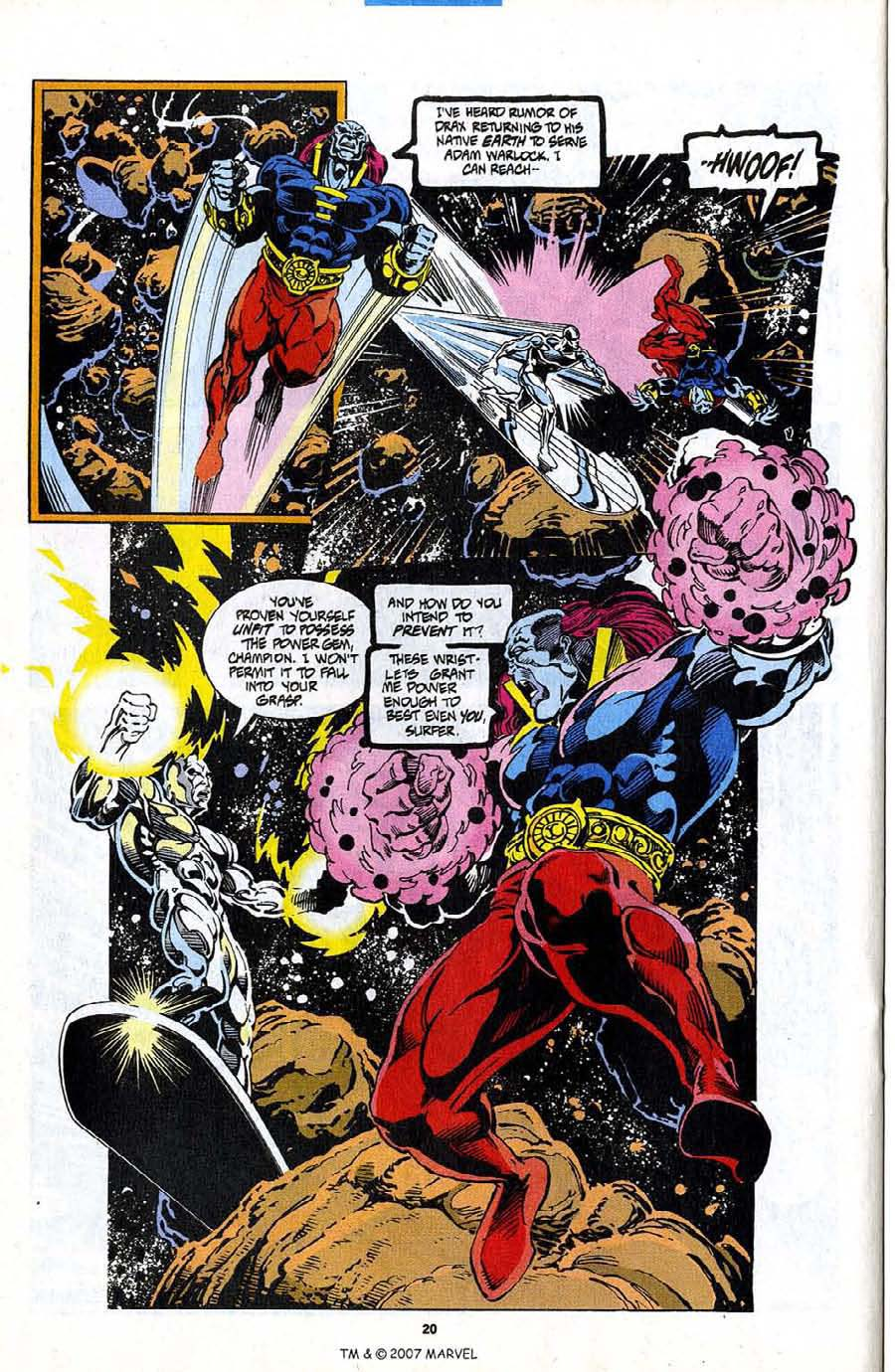 Read online Silver Surfer (1987) comic -  Issue #98 - 22