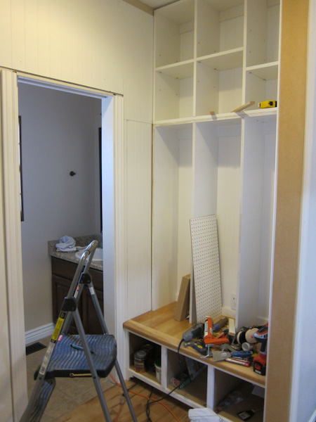 Mudroom built-ins