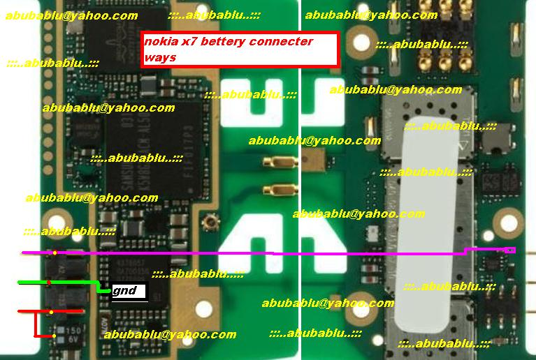 nokia 5130 battery connector ways - GSMHosters