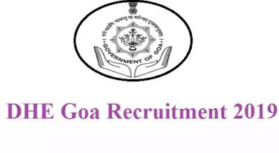 DHE Goa LDC Recruitment 2019 - Apply Now For 127 Posts