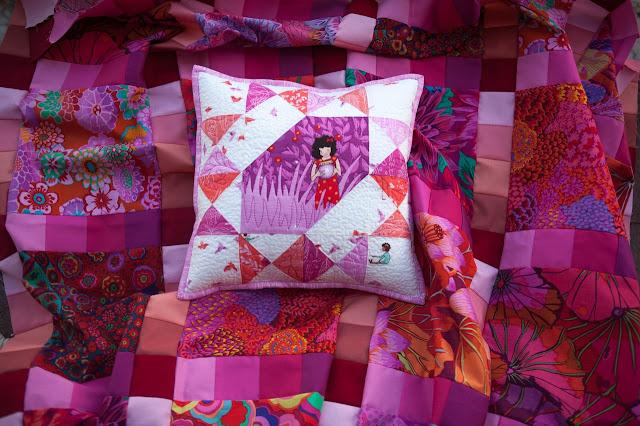 Декоративные подушки из лоскутков своими руками