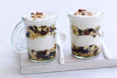 Spiced bircher muesli recipe