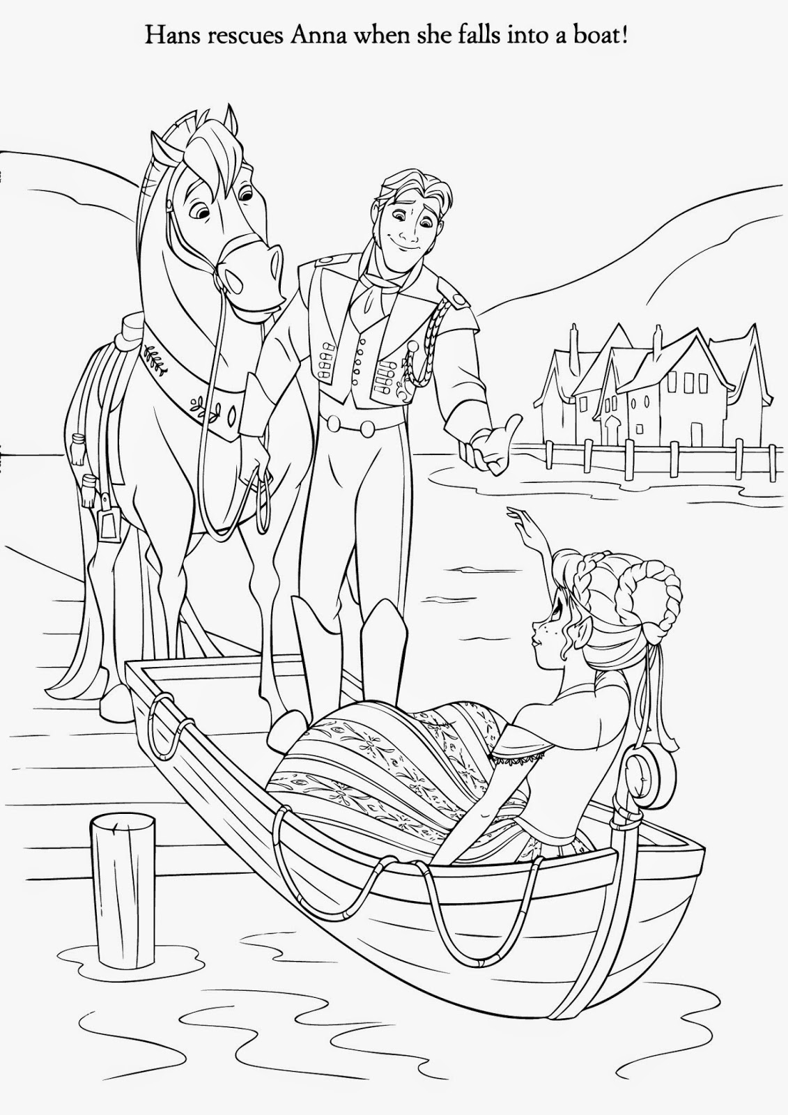 Free coloring pages of frozen pdf