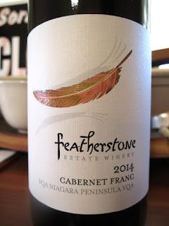 Featherstone Cabernet Franc 2014 - VQA Niagara Peninsula, Ontario, Canada (88 pts)