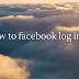 www facebook com com Login