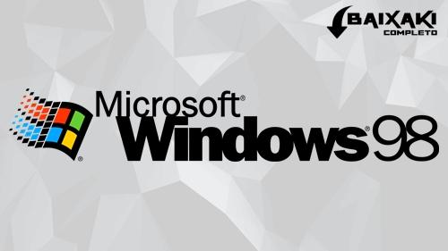 Windows 98 SE Em Português-BR Torrent