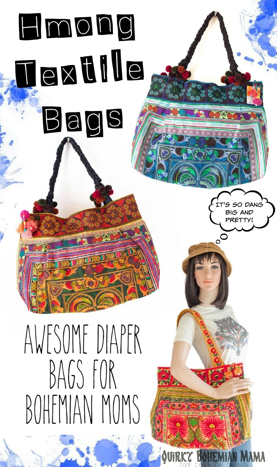 d8f5dc5c2 Quirky Bohemian Mama - A Bohemian Mom Blog  Hmong Textile Bohemian ...