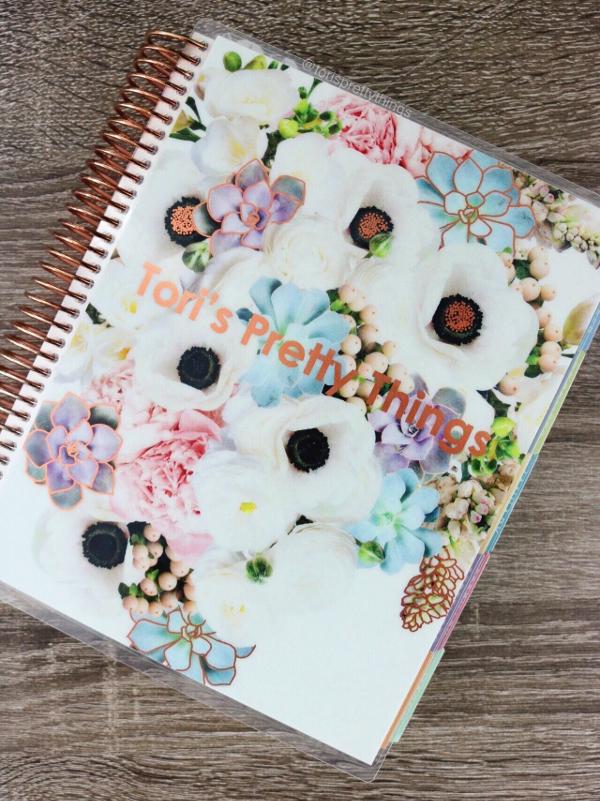 Erin Condren 18-Month Life Planner - Tori's Pretty Things Blog