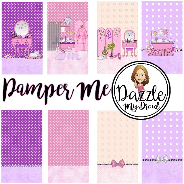 FREEBIE ♡ pamper me wallpaper collection