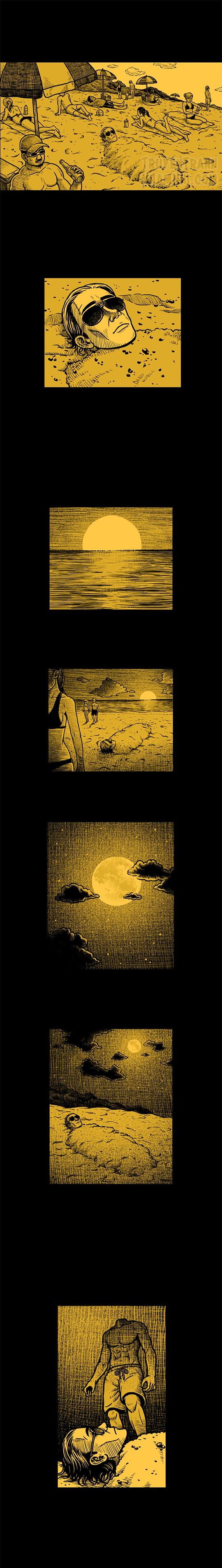 Hắc Ám Truyện #19: Bãi biển