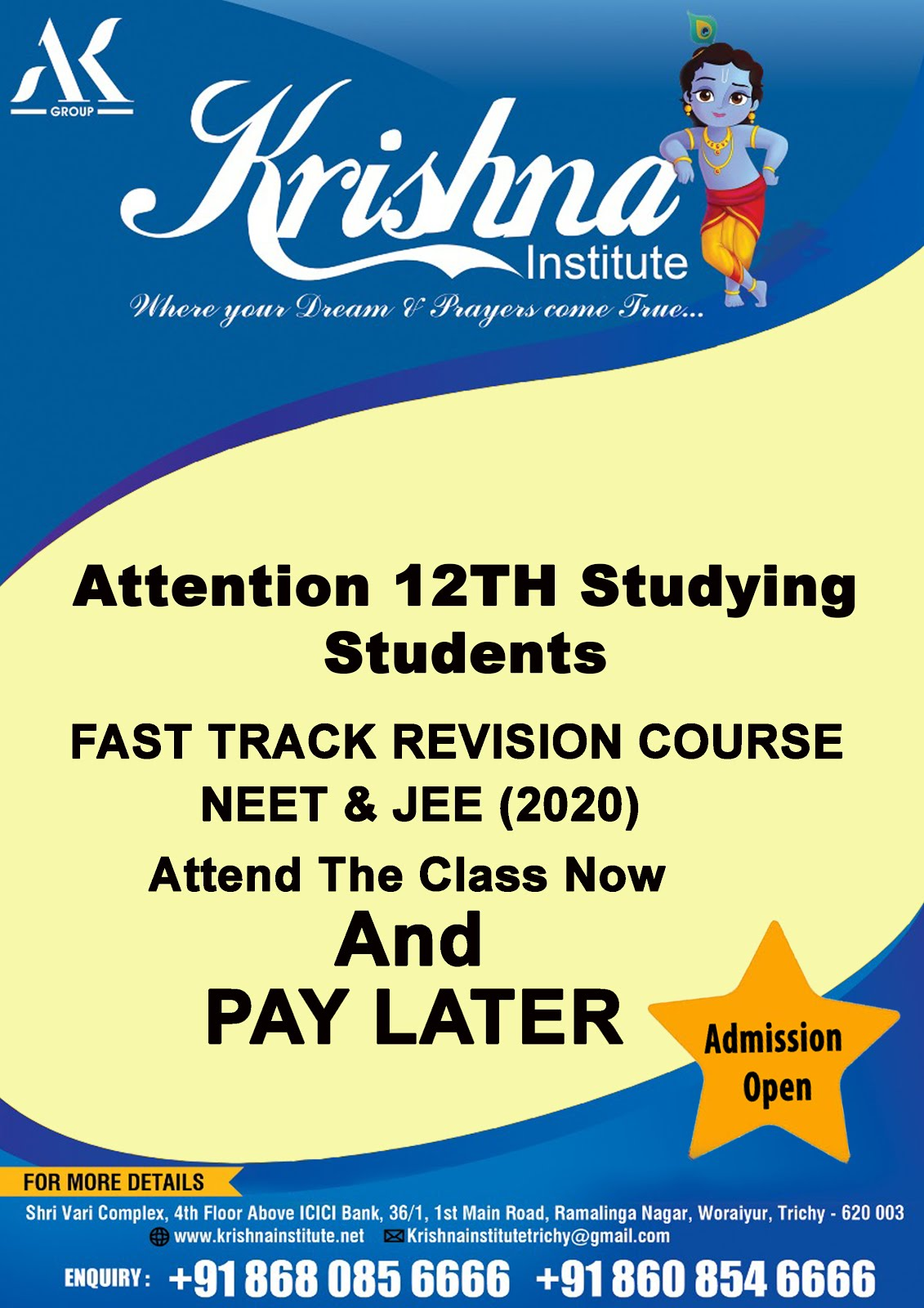Fast Track NEET& JEE Revision Course