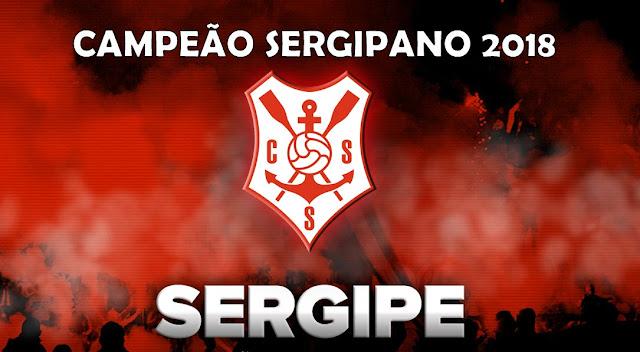 Sergipe é o campeão sergipano de 2018