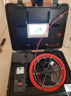Inspección tuberías robot Sevilla