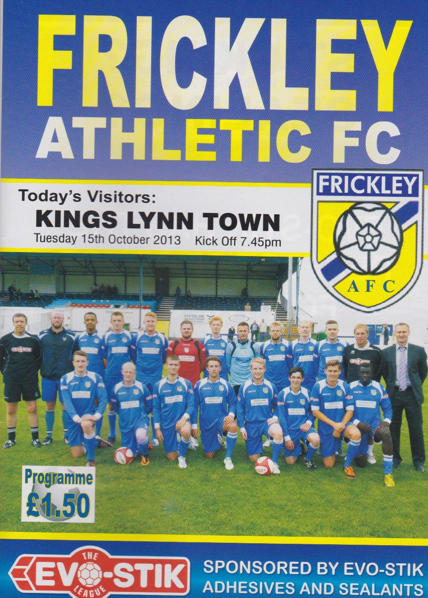 Frickley Athletic Westfield Lane Stadium