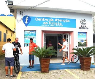 Informe - atendimento ao público na área de Tributação em Ilha Comprida