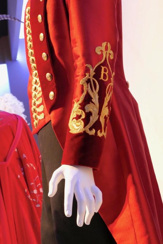 Greatest Showman PT Barnum costume embroidered cuff