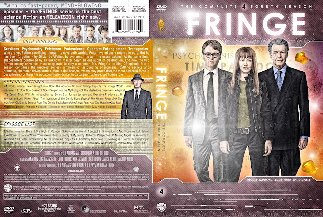 Fringe Season 4 DVD Cover