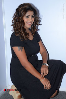 Tollywood Actress Geethanjali Thasya Latest Pos in Black Short Dress at Nanna Nenu Na Boyfriends Audio Launch  0032.JPG