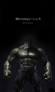 Hulk Boot Logo for Micromax Unite 2