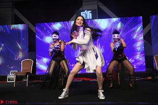 Sunny Leone Dancing on stage At Rogue Movie Audio Music Launch ~  172.JPG