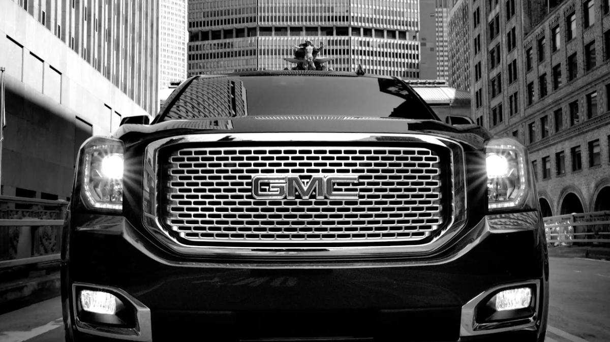 "Timber Continues With ""Sharp"" Look For New GMC Ad"
