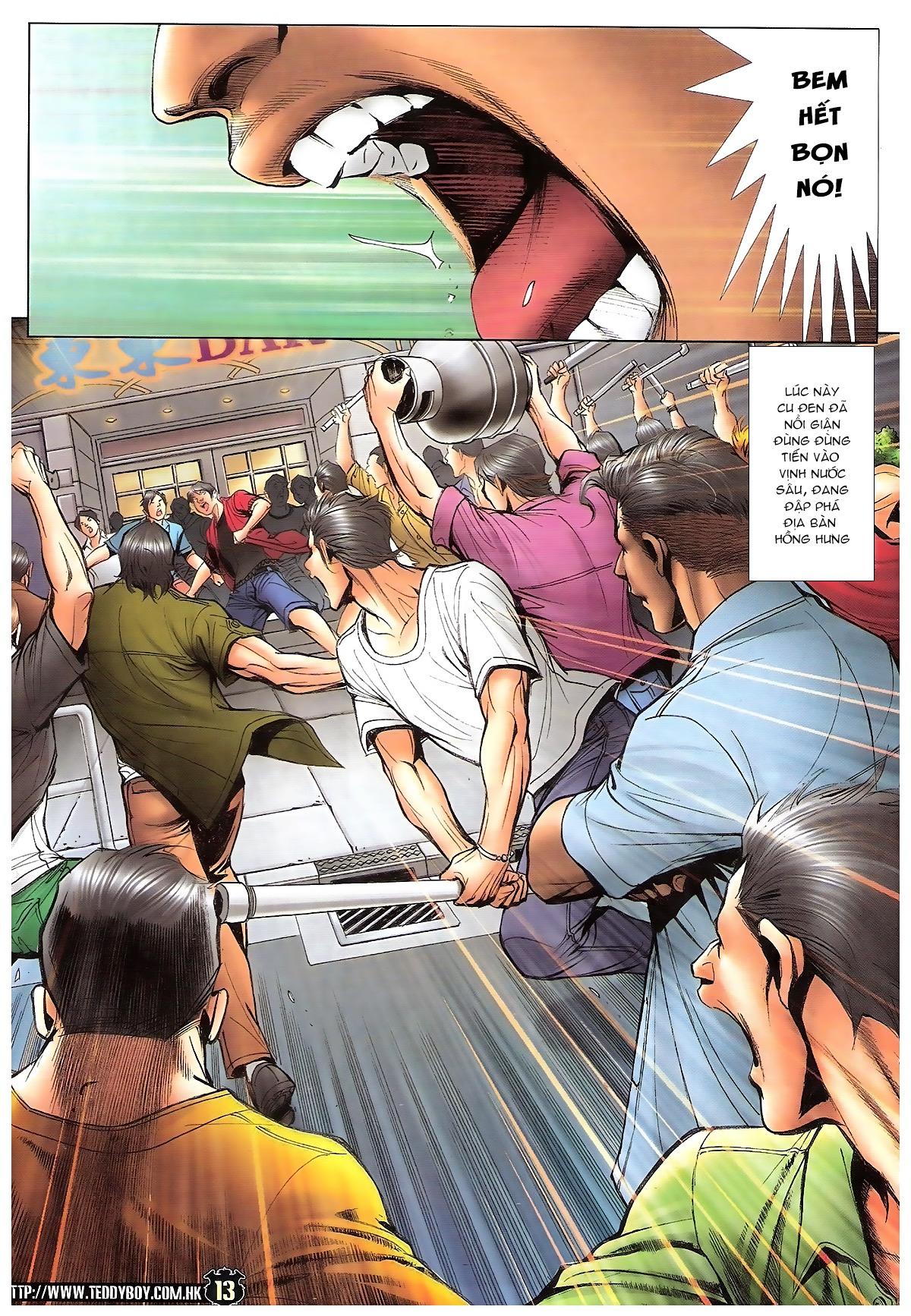 Người Trong Giang Hồ - Ngũ Hổ qui thiên - Chapter 1722: Cu Đen lên đường - Pic 12