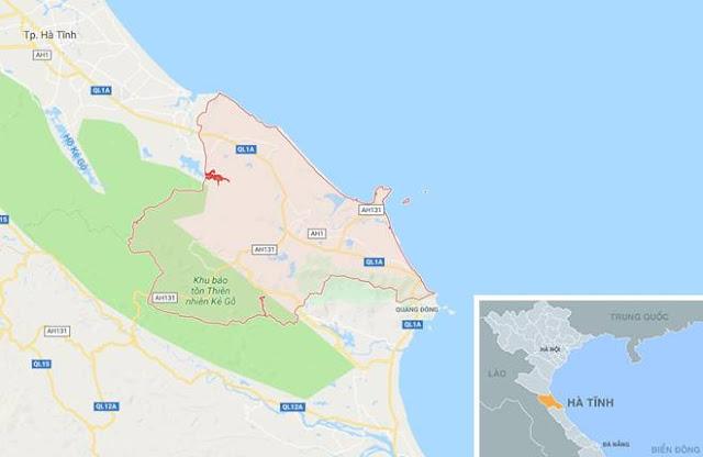 Động đất ở Hà Tĩnh