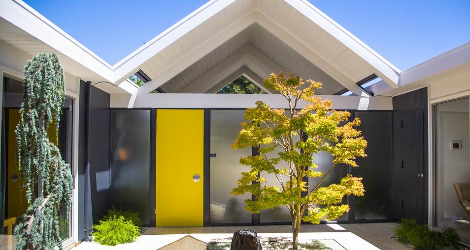 front door color ideas for eichler and mid century modern homes erdal team blog. Black Bedroom Furniture Sets. Home Design Ideas