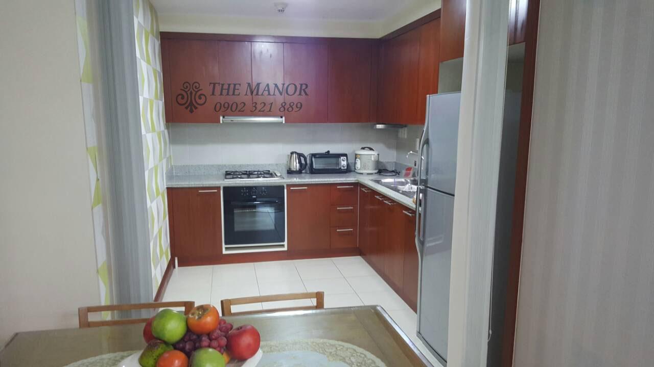 bán gấp hoặc cho thuê căn hộ The Manor 136m2 - tủ bếp cao cấp