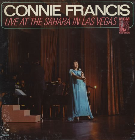 heartbreak hotel connie francis live at the sahara in las vegas