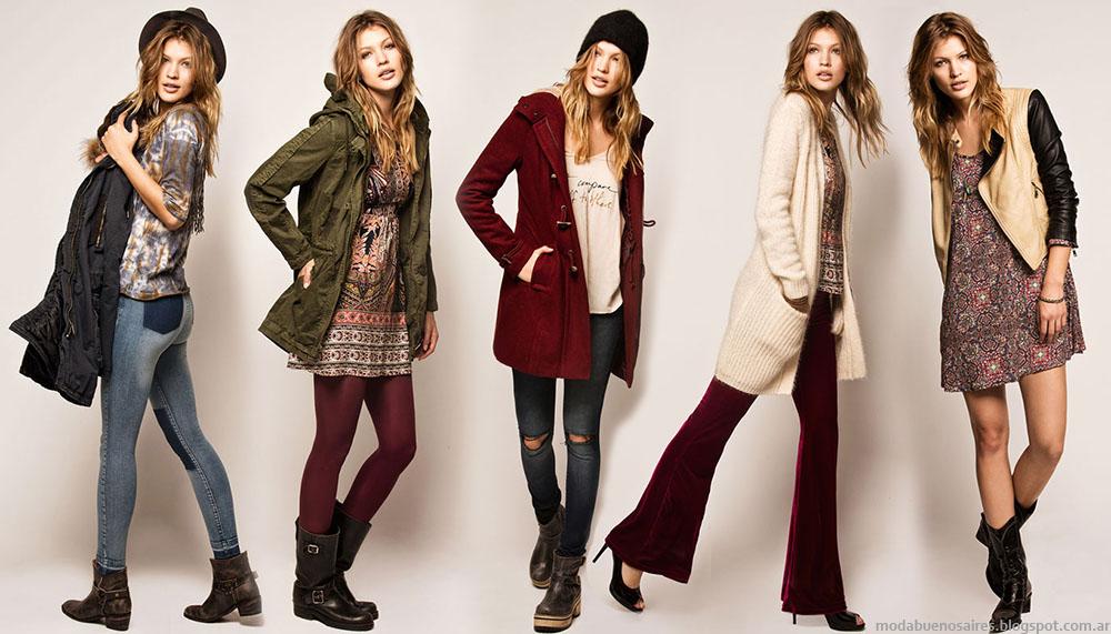Moda otoño invierno 2016 Cuesta Blanca ropa de mujer.