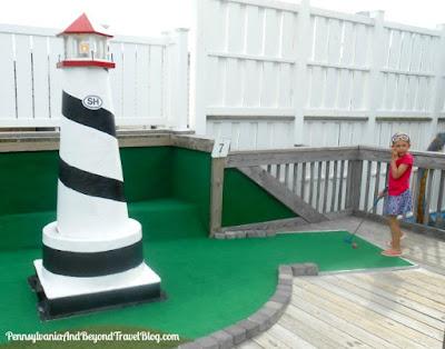 Club 18 Mini Golf in Stone Harbor New Jersey