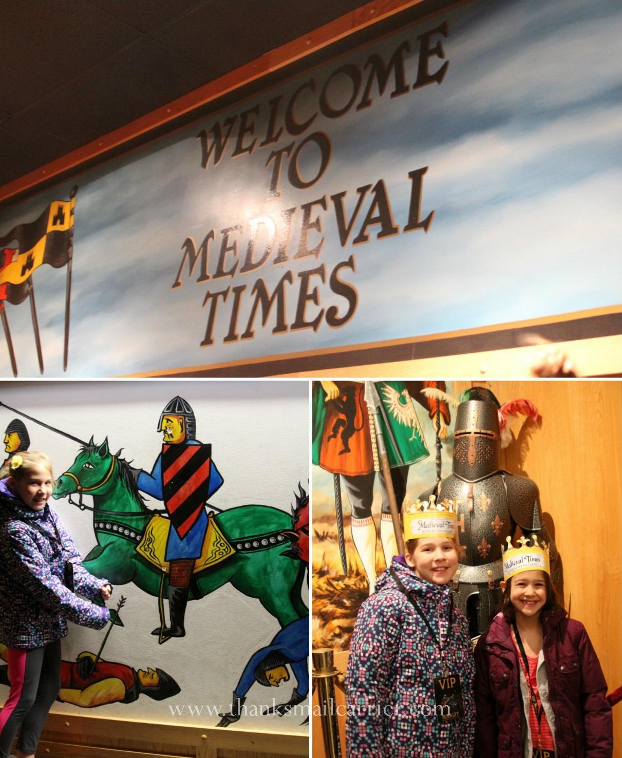 Medieval Times visit