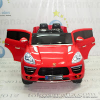Junior ME5688 Pors Macan Rechargeable-battery Operated Toy Car