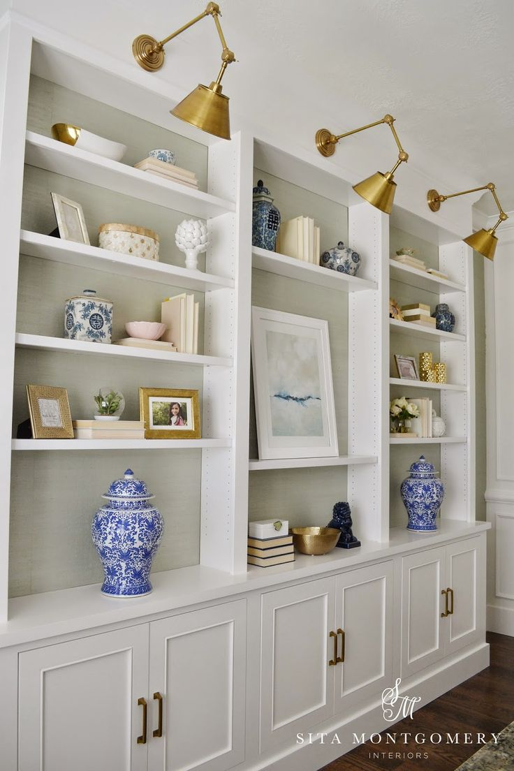 design decorating tips bookcase bookshelf built-in styling