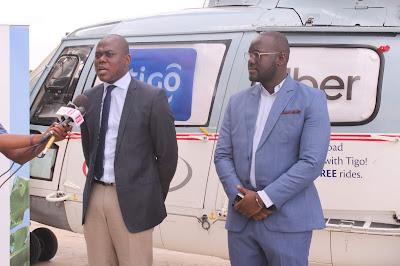 Wateja wa Tigo kuvinjari na Chopper