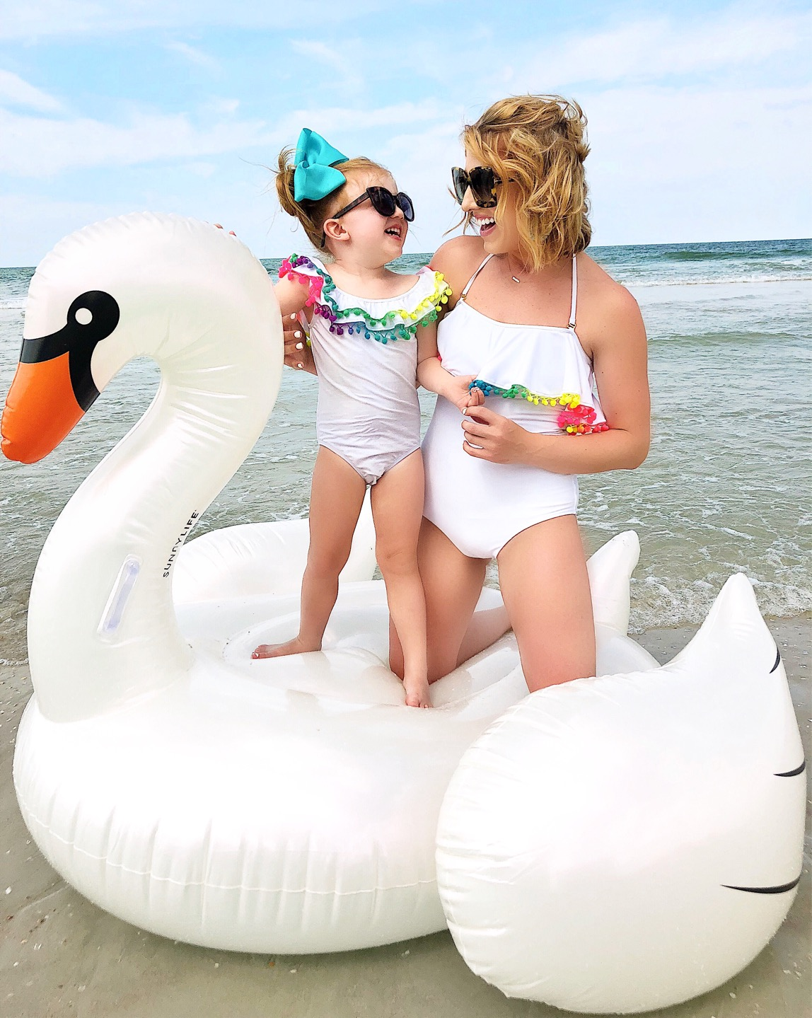 Mommy and Me Swimsuits - Something Delightful Blog