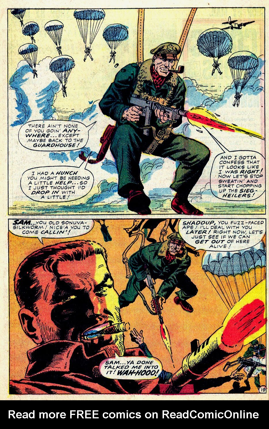 Read online Sgt. Fury comic -  Issue #59 - 28