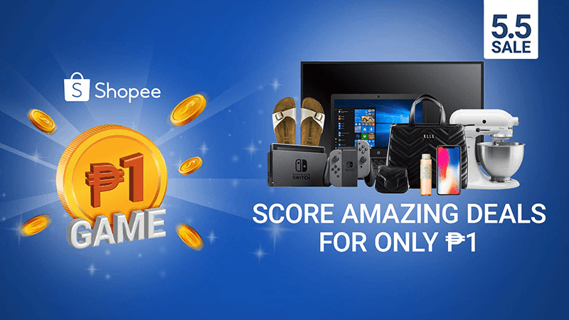 Shopee PHP 1 Game to feature Nintendo Switch, iPhone X and more!