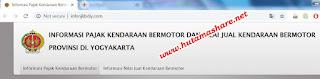 cara cek pajak motor cara cek pajak mobil daerah yogyakarta secara online