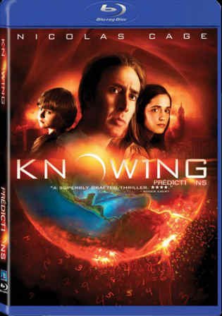 Knowing 2009 BRRip 350Mb Hindi Dubbed Dual Audio 480p Watch Online Full Movie Download bolly4u
