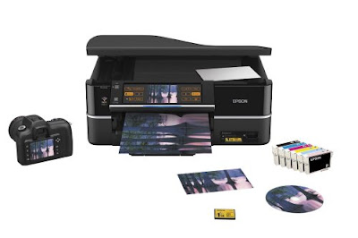low cost printing with individual ink cartridges Epson Stylus Photo PX800FW Driver Downloads