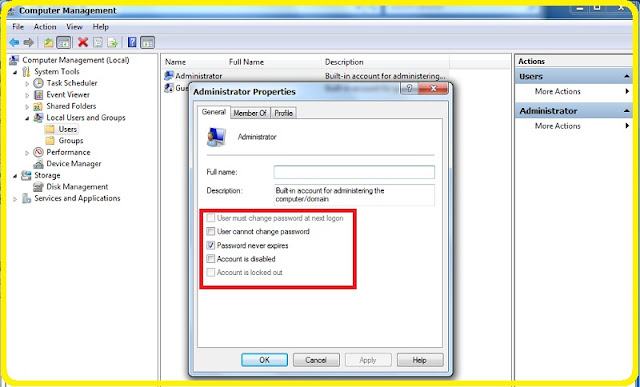 cara membuat akun administrator di windows 7