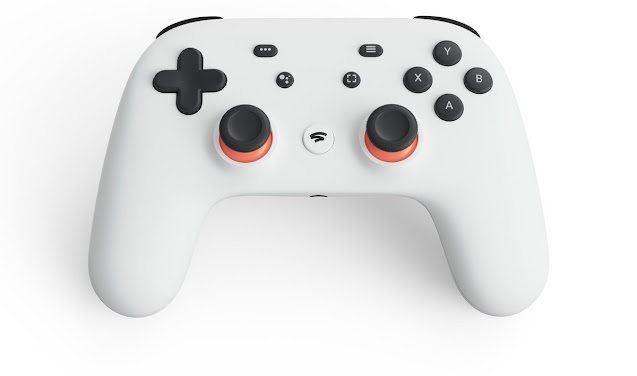 Controle do Stadia - Game Developers Conference