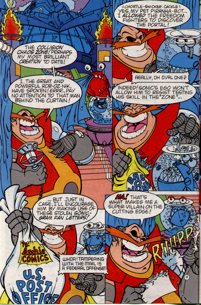 Read online Sonic The Hedgehog comic -  Issue #25 - 5