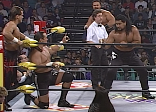 WCW HALLOWEEN HAVOC 96 REVIEW: Chris Benoit & Mongo McMichael vs. The Faces of Fear
