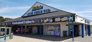The Hi-Tide amusement arcade in Porthcawl