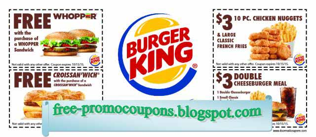 picture about Printable Burger King Application referred to as Burger king discount codes printable 2018 : Vitamix tremendous 5200 coupon