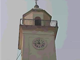 Detalhe da Torre da Igreja de Colonia Del Sacramento