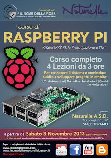 RASPBERRY PI, la Prototipazione e l'IoT